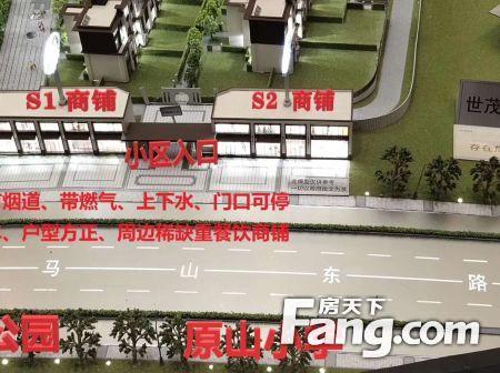 市中区+王官庄白马山+世茂璀璨时代纯一层沿街重餐饮旺铺学府